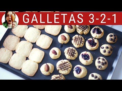 GALLETITAS FÁCILES 3-2-1 ¡Las galletas más ricas del mundo! ft. Vainilla Crocante