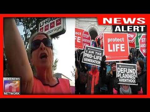 ALERT: PEACEFUL Pro-Life Activist HARASSED By Unhinged Pro-Choice Libs