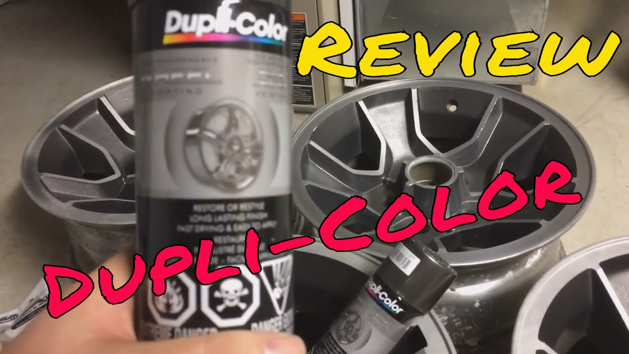 Review Of Dupli Color Graphite High Performance Wheel Coating