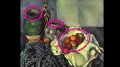 Paul Cézanne - Analyse seiner Gemälde