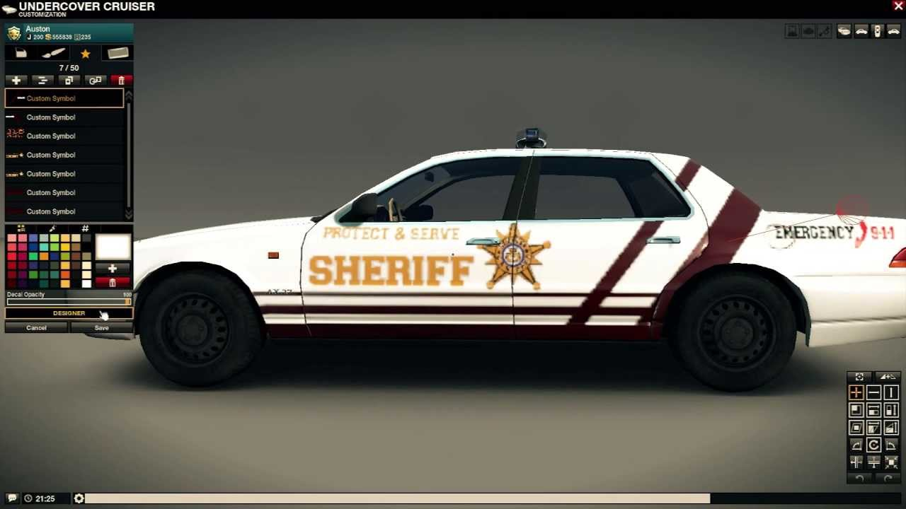 All The Cars Symbols >> APB Reloaded - Awesome Cop Cars with 7 Symbols - YouTube