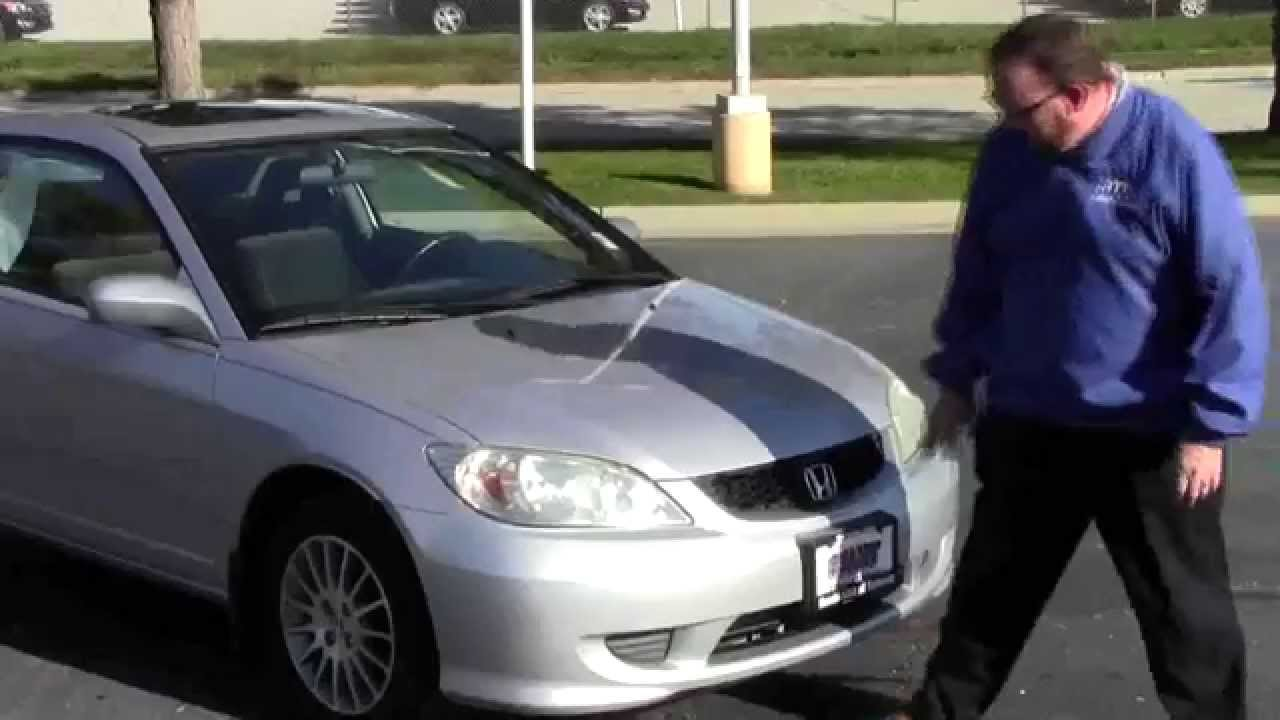 Used 2005 Honda Civic Ex Special Edition For Sale At Honda Cars Of