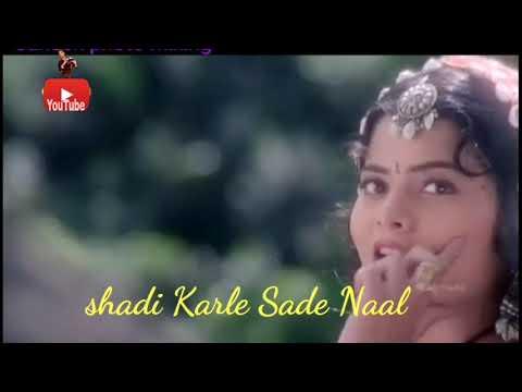 Shadi Karle Sade Naal Main Hoon Roop Ki Malamal