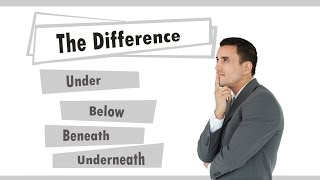Download The Difference  [ Under - Below - Beneath - Underneath ]