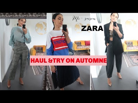 HAUL TRY ON AUTOMNE // ZARA/&OTHER STORIES/MARANT..