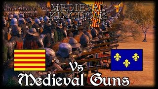 MEDIEVAL GUNS! Total War Attila MEDIEVAL MOD Early Access Gameplay!