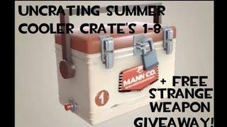 Uncrating Summer Cooler Crate's