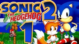 SONIC THE HEDGEHOG 2 # 01 ★ Emerald Hill & Chemical Plant Zone HD