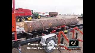 Timberking Portable Sawmill | Logging & Forrest Equipment Auctions