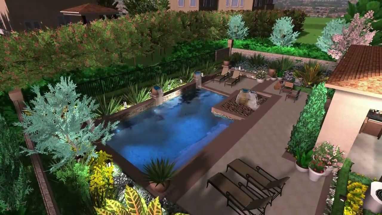 3d pool design virtual presentation studio youtube for 3d pool design online