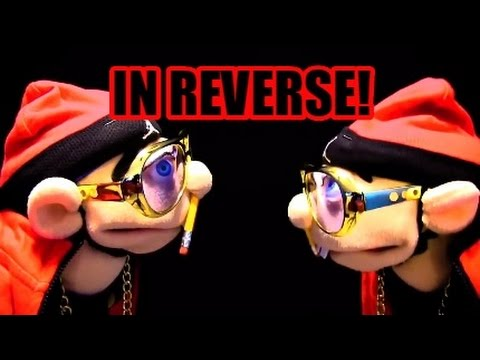 JEFFY Rap Sg In REVERSE!