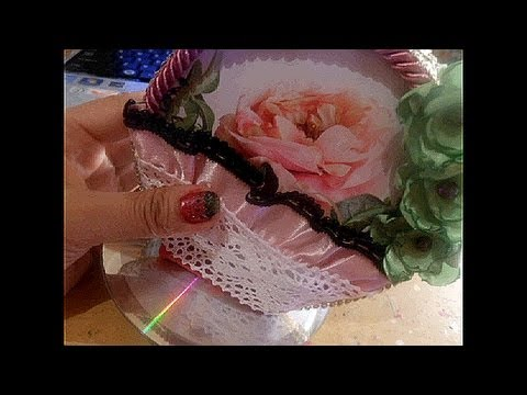 Old cds just fun craft ideas youtube - Top uses for old cds and dvds unbounded ideas ...