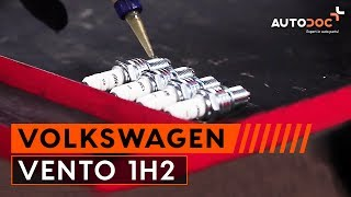 Montera Tändstift VW VENTO (1H2): gratis video