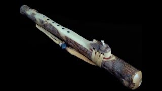 Dryad Flutes: Tobacco Prayer Flute in Am