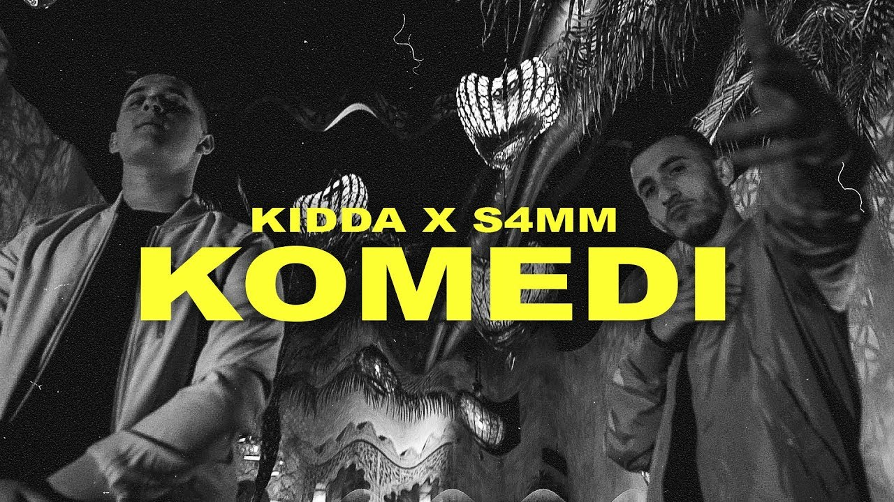 KIDDA x S4MM - KOMEDI (Official Video)