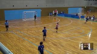 5日 ハンドボール女子 国体記念体育館 Dコート 湯沢×境 1回戦 2
