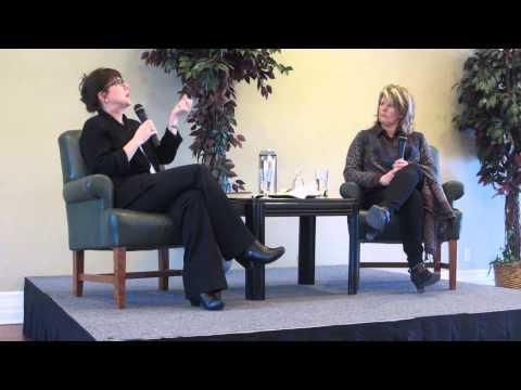 Lauren B. Davis interviewed at Blue Heron Books event