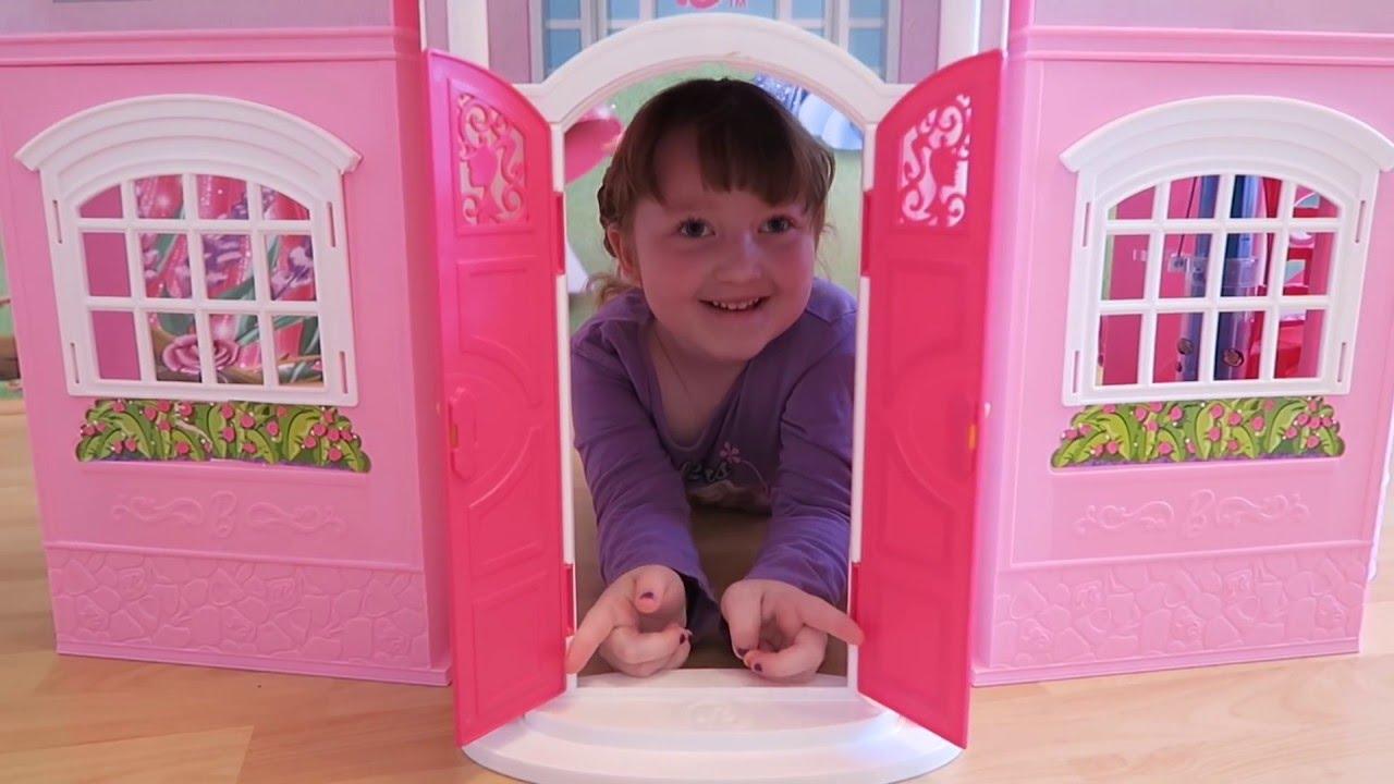 Дом для кукол Барби - YouTube