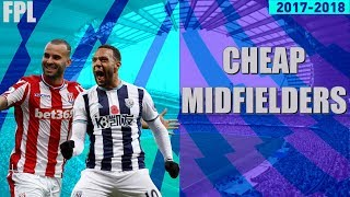 Best cheap midfielders to pick fpl(top 5)fantasy premier league 17/18 budget midfielders gameweek 5