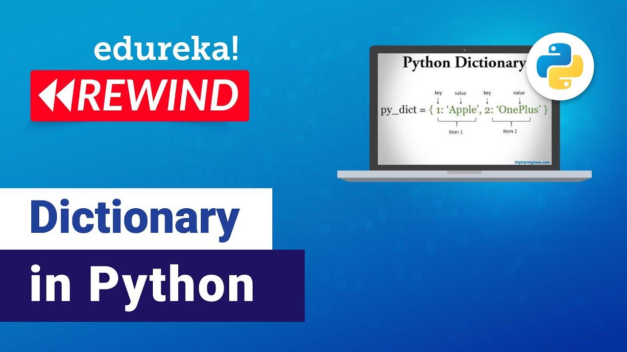 Dictionary In Python | Python Dictionary | Python Programming