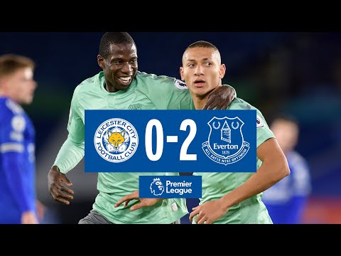 LEICESTER CITY 0-2 EVERTON | RICHARLISON + HOLGATE FIRE BLUES TO VICTORY | PREMIER LEAGUE HIGHLIGHTS