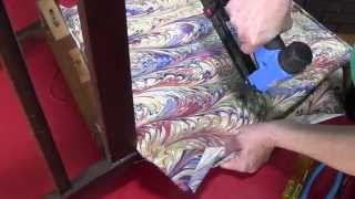 How To Upholster A Dining Room Chair Part 1