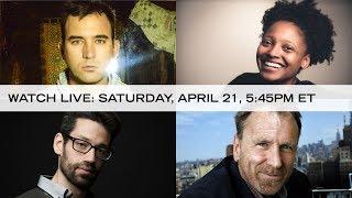 Watch live April 21st!