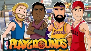 Torneo de Humildes Alka vs Bean3r| NBA PLAYGROUNDS |