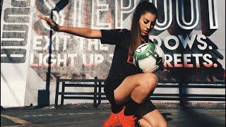 Amazing Skills Lisa Zimouche  Freestyle ball Compilation! #4