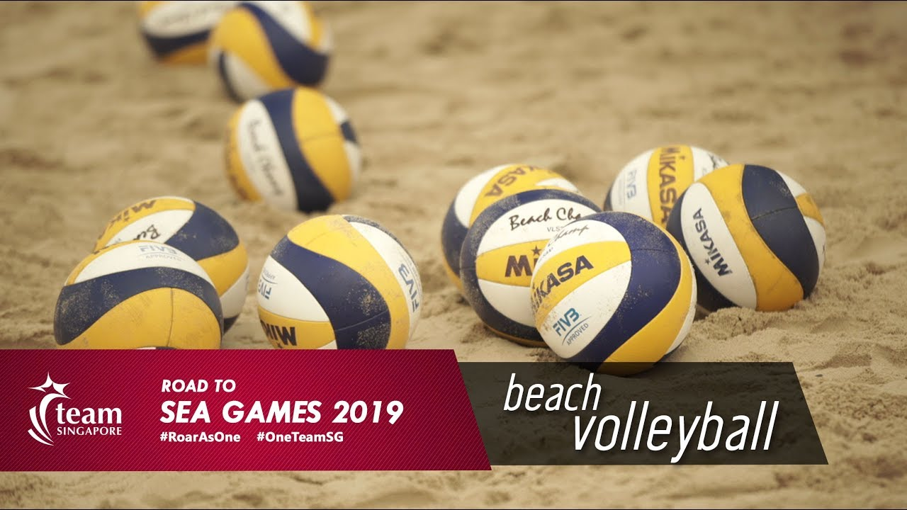 Road To Sea Games 2019 Beach Volleyball Youtube