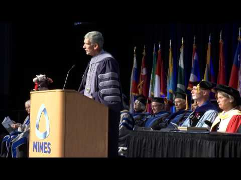 2016 Colorado School of Mines Midyear Undergraduate Commencement Ceremony