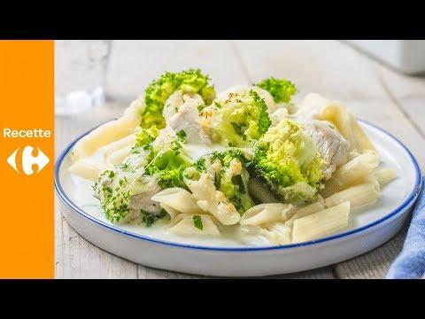 pâtes-aux-4-fromages,-poulet-et-brocoli