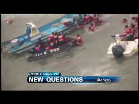 WEBCAST: New Questions in South Korea Ferry Accident