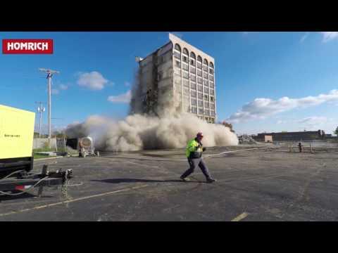 Clarion Hotel, Toledo / RadioHead - Weird Fishes  / Homrich Demolition -