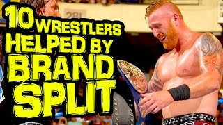 10 wwe wrestlers helped most by the brand split