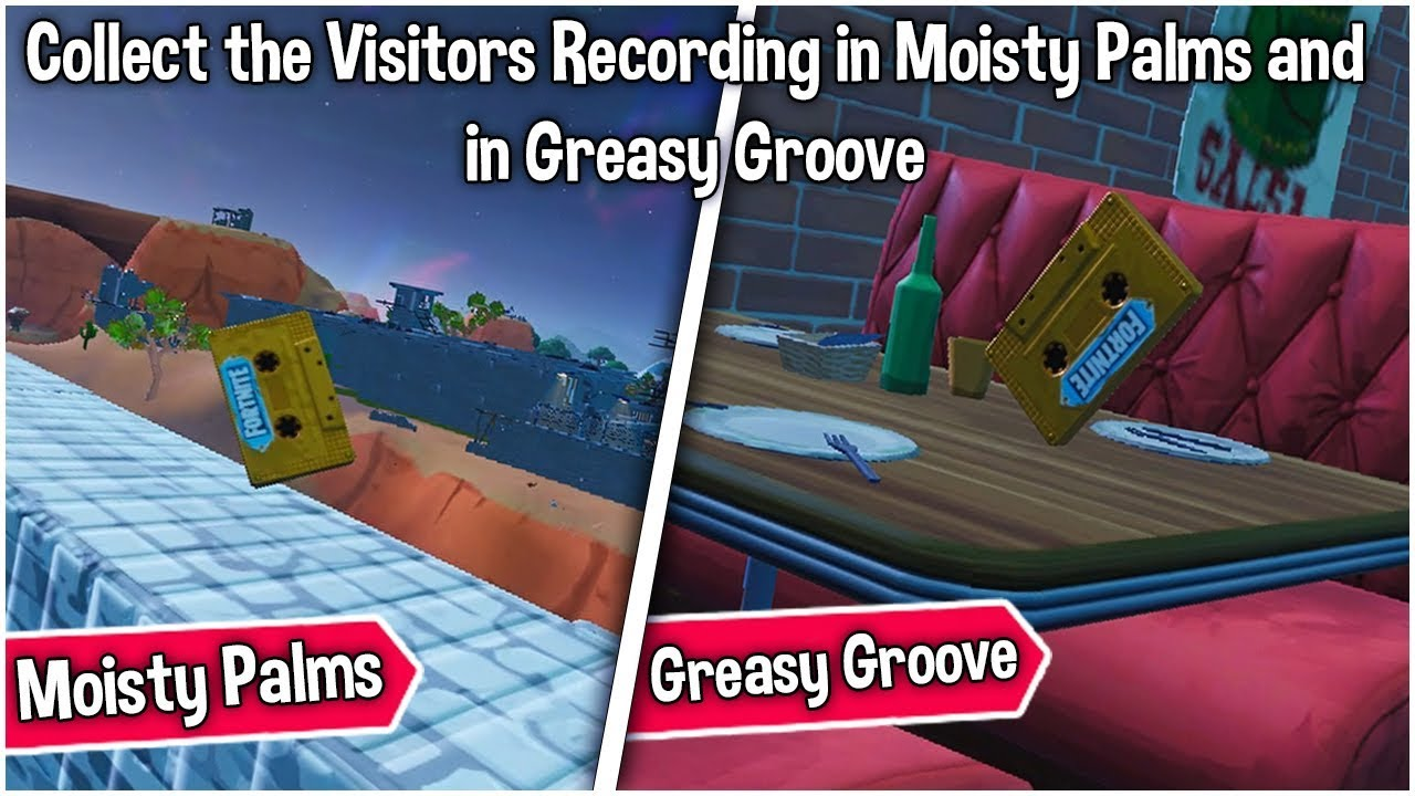 Collect the Visitors recording in Moisty Palms and in ...