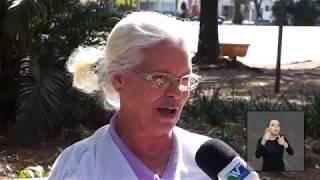 Vereadores em Ação - José Porsani verifica  Praça do Carmo