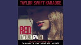 Red (Instrumental With Background Vocals)