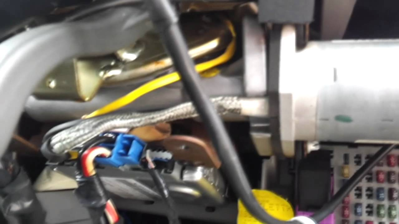 How to replace Power Steering Motor on a Fiat Punto MK2