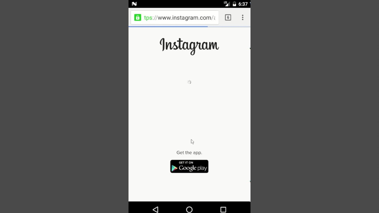 How to delete instagram account on android phone