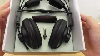 Superlux HD-668 B Studio Headphones / Kopfhörer unboxing [HD]