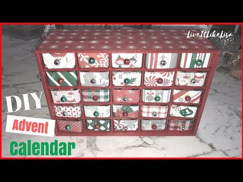 CHRISTMAS DIY CRAFT | Advent Calendar Ideas