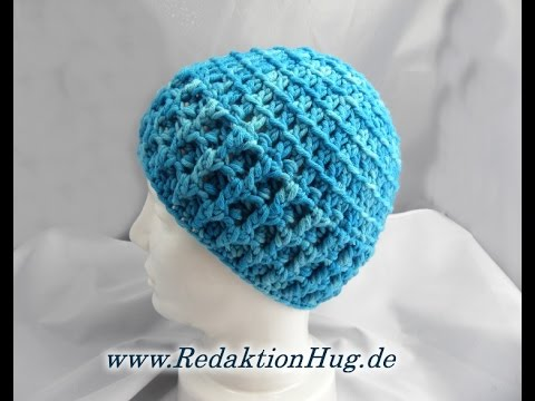Häkeln Mütze Häkelmütze Hatnut Veronika Hug Youtube