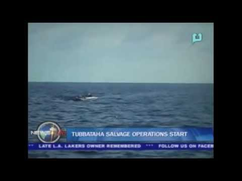 Tubbataha salvage operations start