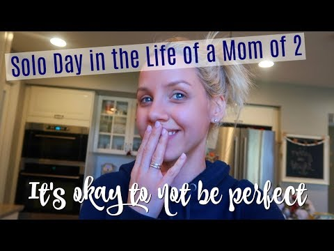 VLOGMAS 2017 DAY 7// SOLO DAY IN THE LIFE OF A MOM OF 2 // KEEPING IT REAL // SAHM