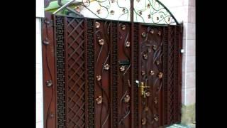 Красивые кованые ворота с калиткой ковка в Днепропетровске Днепре(, 2017-05-05T13:45:25.000Z)