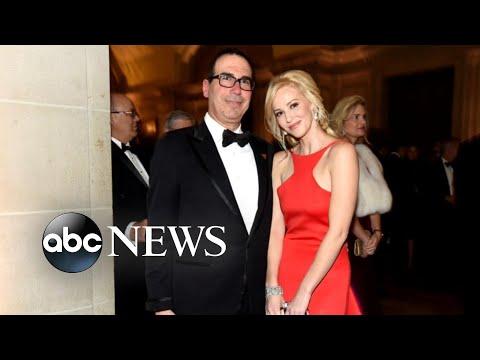 Treasury Secretary's wife apologizes after Instagram uproar