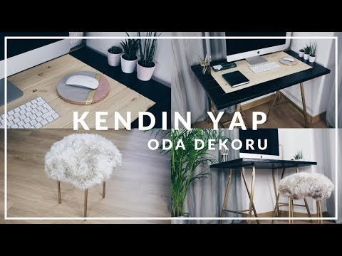 KENDİN YAP -ODA DEKORU 2018 / DIY ROOM DECOR