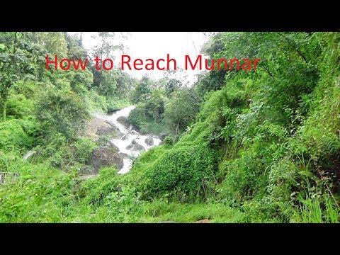 How to reach Munnar (Kerala) by Bus,Train, Car, Flight