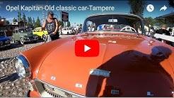 Opel  Kapitan-Old classic car-Tampere